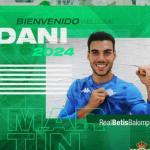 Dani Martín ya es del Betis / RealBetisBalompie.es