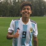"La perla argentina del momento firma por el Manchester City ""Foto: Talento Calciatore"""