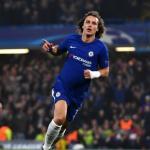 David Luiz con la camiseta del Chelsea. Foto: Antena3.com