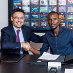 Bartomeu y Abidal (FC Barcelona)