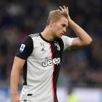 De Ligt en un partido con la Juventus. / nu.nl