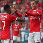 """El agridulce primer gol de Raúl de Tomás con el Benfica """"Foto: SLB"""""""