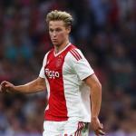 Frenkie de Jong, con el Ajax / twitter