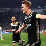 Matthijs de Ligt celebra un gol con el Ajax de Amsterdam / UEFA