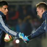 """¿Quién debe ser el portero de la Selección argentina? """"Foto: Goal.com"""""""