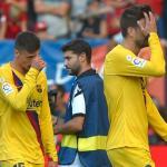 Los problemas defensivos del FC Barcelona. FOTO: FC BARCELONA