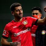 Kerem Demirbay, el mediocampista que define al Leverkusen de Bosz   FOTO: LEVERKUSEN