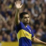 Riquelme en un partido con Boca. / elcrackdeportivo.com.ar