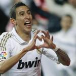 Di María celebra un gol/lainformacion.com/EFE/Archivo