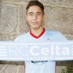 Emre Mor, en su presentación con el RC Celta de Vigo / Celta.