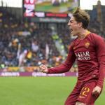 Zaniolo, celebrando un gol / twitter
