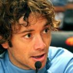 Diego Lugano durante una rueda de prensa