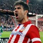 Diego Costa celebrando un gol con el Atlético. Foto: Atleticodemadrid.com
