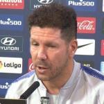 Diego Simeone entrenador del Atlético de Madrid / Youtube.com.