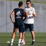 Ceballos y Lopetegui (Real Madrid)