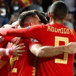 Los jugadores de 'La Roja' (SeFutbol)