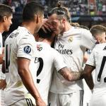 Real Madrid celebrando un gol / twitter