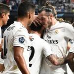 Jugadores del Real Madrid, celebrando un gol / Twitter.