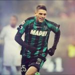 Domenico Berardi durante un partido con el Sassuolo. Foto: Youtube.com