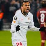 Los dos clubes que se quieren llevar a Joan Jordán a la Premier League. Foto: Sevilla FC