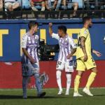 Leo Suárez, celebrando el gol (Real Valladolid)