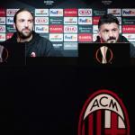 Higuaín y Gattuso (AC Milan)