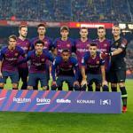 El once que salió en Copa ante la Cultural (FC Barcelona)