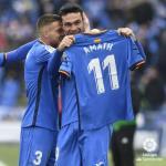 Ángel, Antunes y Molina (Getafe CF)
