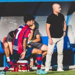 Paco López, cuando aún entrenaba al filial (Levante UD)