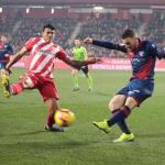 Galán, durante el partido ante el Girona (SD Huesca)