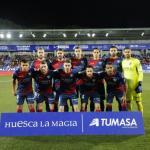 El once que ha salido esta noche ante el Valladolid (SD Huesca)