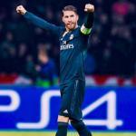 Sergio Ramos, durante un partido (Real Madrid)