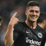 Jovic celebra un gol / YouTube