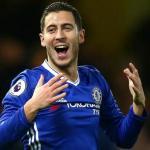 Eden Hazard, el mejor regateador de Europa esta temporada / Chelsea.