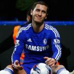 Eden Hazard con la camiseta del Chelsea. Foto: Youtube.com