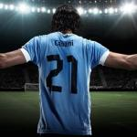 Edinson Cavani. Foto: Youtube.com
