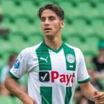 Ludovit Reis, durante un partido / svfcgroningen.nl.
