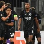 Jugadores del Eintracht Frankfurt celebran un gol / UEFA