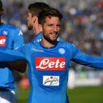 El Nápoles fija un desorbitado precio para Mertens / Directvsports.com