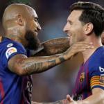 """Los elogios de Messi a Arturo Vidal """"Foto: depor.com"""""""