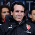 Unai Emery, con el Arsenal / twitter