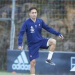 Emre Mor, durante un entrenamiento. Foto: RCCelta.es