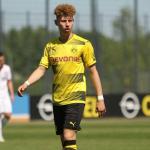 Peña, con el Borussia Dortmund / twitter