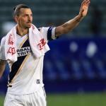 Ibrahimovic en un partido con los Galaxy / antena2.com.co
