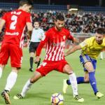 Almería y Cádiz en el partido de liga. / elcornerdelsur.com