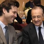 Santiago Solari y Florentino Pérez / Diario As.