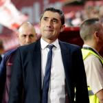 Ernesto Valverde es un entrenador único... Foto: AP