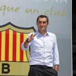 Ernesto Valverde, entrenador del Barça. Foto: FCBarcelona.es