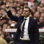Ernesto Valverde durante un encuentro de Liga. Foto: Youtube.com