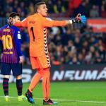 Masip en un partido con el Valladolid. / eldesmarque.com